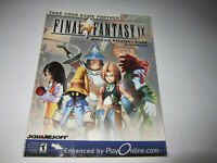 BRADYGAMES FINAL FANTASY IX OFFICIAL STRATEGY GUIDE BY DAN BIRLEW VG