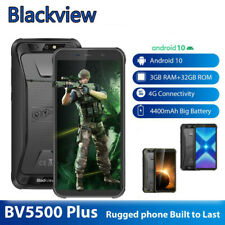 Original Blackview BV5500 Plus IP68 4G Lite Mobile Phone 3GB RAM 32GB Android 10