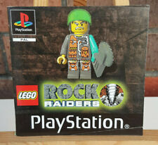 LEGO Rock Raiders MANUAL - PS1 - PAL - Free Shipping