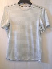 Champion Men's gray and white running T Shirt size Small (A126)