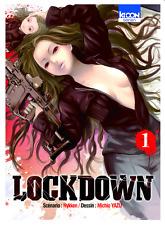 manga Lockdown Tome 1 Seinen Michio Yazu Nykken Suspense Thriller Ki-Oon !  VF
