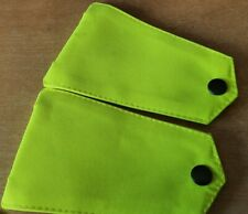 HI-VIZ SHOULDER EPAULETTES,FILM PROP,MEMORABILIA,FANCY DRESS,NHS,EMS