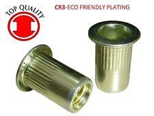 LFK Steel Rivet Nut Rivnut Insert Nutsert - 3/8-16 (TSBS616) 10 pcs