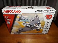 MECCANO, REAL METAL, FLIGHT ADVENTURE, MAKES 10 MODELS, NEW IN BOX, 2015