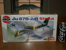 WW#2,GERMAN, JUNKERS Ju 87B-2/R STUKA, DIVE BOMBER, Plastic Model Kit,Scale 1/48