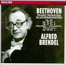 Beethoven: Sonatas for piano No14; Sonatas for piano No12 (CD, Sep-1994, Philip…