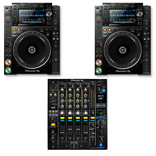 Brand New Pioneer Nexus 2 DJ Set 2 CDJ 2000 NXS2 Players 1 DJM 900 NXS2 Mixer