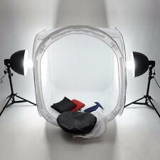 New 60x60cm Photo Studio Shooting Tent Light Cube Diffusion Soft Box Kit MU