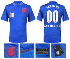 BNWT 2020 2021 OFFICIAL ENGLAND AWAY NIKE SHIRT PERSONALISED = KID'S SIZES