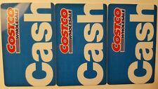 Costco Gift Card Costco Cash Card - Lot of 3 - 0 Balance