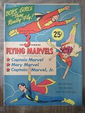 THE FAMOUS FLYING MARVELS - Punch-Outs/Paper Dolls - UNUSED - 1945