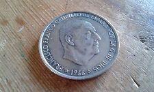 Used - MONEDA DE 100 PTAS. FRANCISCO FRANCO - 1966 - Item For Collectors