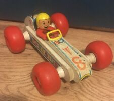 Vintage Fisher Price Bouncy Racer