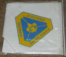 Bronx Council GNYC (NY) 1968 Jamboree Scoutaree Neckerchief  BSA