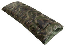BRAND NEW SINGLE LIGHTWEIGHT ENVELOPE STYLE SLEEPING BAG CAMOUFLAGE 250GSM