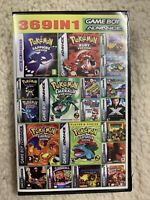 369 games in 1 Nintendo Game Boy Advance GBA DS Lite