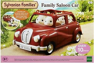 Sylvanian Families - RED FAMILY SALOON CAR 4611  - NEW But Damaged Box