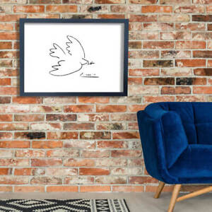 Pablo Picasso - Dove of Peace Giclee Wall Art Poster Print