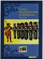 FOLDER 2009 - CORPO DEI GRANATIERI DI SARDEGNA  - VALORE FACCIALE € 10,00