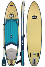 ISLE Surf & SUP 11' Explorer Inflatable Stand Up Paddle Board - Sand