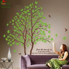 Hágalo usted mismo Tamaño Grande Verde árbol Vinilo Pegatinas De Pared Decoración Hogar Salón Dormitorio Wal