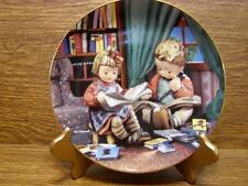 "M.J. Hummel Plate - Little Champions Collection - ""Budding Scholars"""