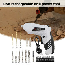 LED Cordless Electric Screwdriver Household Battery Rechargeable Drill Driver