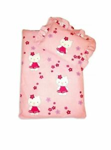 Hello Kitty Baby Bedding Set For Strollers Baby Cradles Blanket With Pillow Red