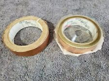 """2 Roll 3M Scotch Copper Foil Electrical Tape 1"""" Width length unknown 1 new 1 not"""