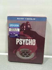 Psycho Blue Ray + Digital Hd Dvd Steel Book (new Sealed)