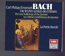 CPE BACH BOX SET 2 CDS THE LAST SUFFERING OF THE SAVIOUR/ SIGISWALD KUIJKEN