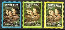 Costa Rica - 1979 International year of the child / Birds Mi. 1029-31 MNH