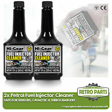 2 x Petrol Injector Cleaner for Triumph. Cleans Complete Fuel System Safe