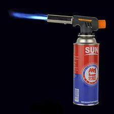 Metal Butane Gas Flame Gun Torch Burner Camping BBQ Welding Solder Lighter 1300℃
