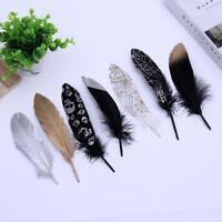 10-50pcs Craft Goose Feathers Clothing Jewelry DIY Handmade Decoration 14-20cm