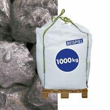 (0,38€/1kg) 1000kg BigBag Gabionen Steine Marmorkies Nero Ebano 70-120 mm