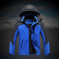Men Women Winter Ski Jacket Waterproof Coat Snowboard Windproof Warm Hooded