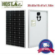New Design HQST 100W 100W Watt Mono-crystalline Solar Panel 100W Watt PV Camping