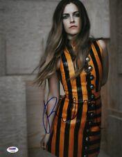 Riley Keough Signed Authentic Autographed 11x14 Photo PSA/DNA #AC95209