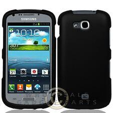 Samsung R830 Axiom Shield Rubberized Black Case Cover Shell Protector Shield