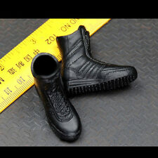 1/6 Black hawk swat Shoes GSG9 Caliga Boots with foot / Support HT TTL TC Body
