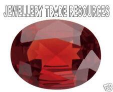Natural Rich Red Garnet Oval Cut 6mm x 4mm Gem Gemstone