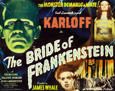 """Famous Monsters The Bride of Frankenstein Poster Replica Print 14 x 11"""""""