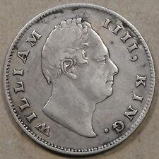 British India 1835 William IIII Mid Grade Cleaned Long ago