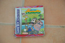 jeu Nintendo GameBoy Advance : La famille Delajungle - en boite - GBA SP