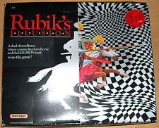 Rubik's Illusion Board Game by Matchbox 1989 - Unused condition.
