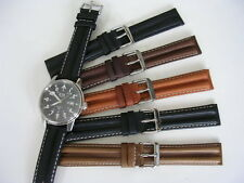 20mm Black Khaki Pilot Aviator Flieger Military watch strap band IW SUISSE 18 22