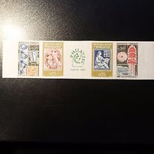 PHILATEC N°1414/1417 N°1417a TIMBRE NON DENTELÉ IMPERF 1964 NEUF ** LUXE MNH