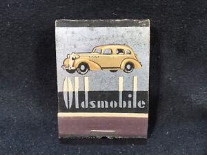 Vintage NOS 1940's Oldsmobile Wilmington Delaware Olds Dealer Matchbook Matches
