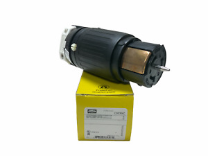 Hubbell Wiring Device-Kellems Cs6364c 50A Twist-Lock Connector 3P 4W 125/250Vac